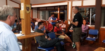 A visit from NZC Umpires Coach - Tony Hill